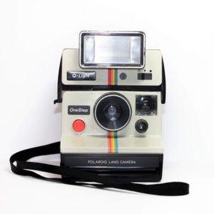 Polaroid Working Vintage Camera/Case